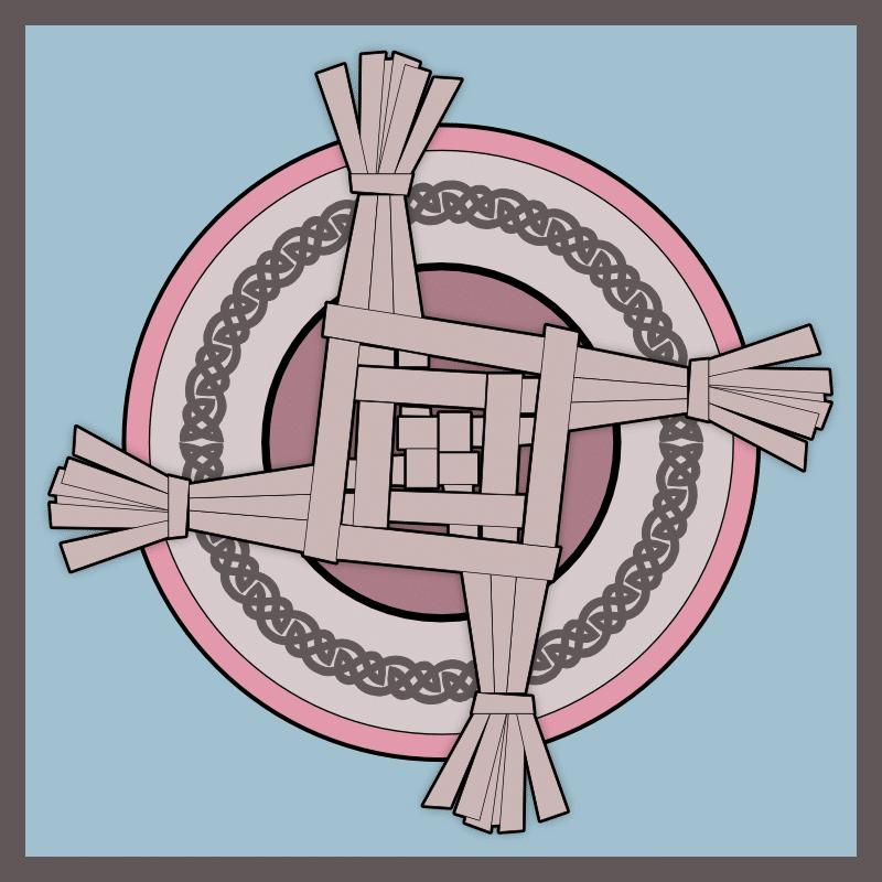 imbolc-brigid-cross