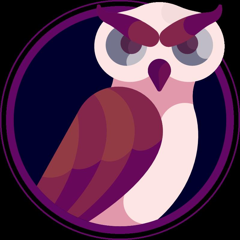 Emblem Eule