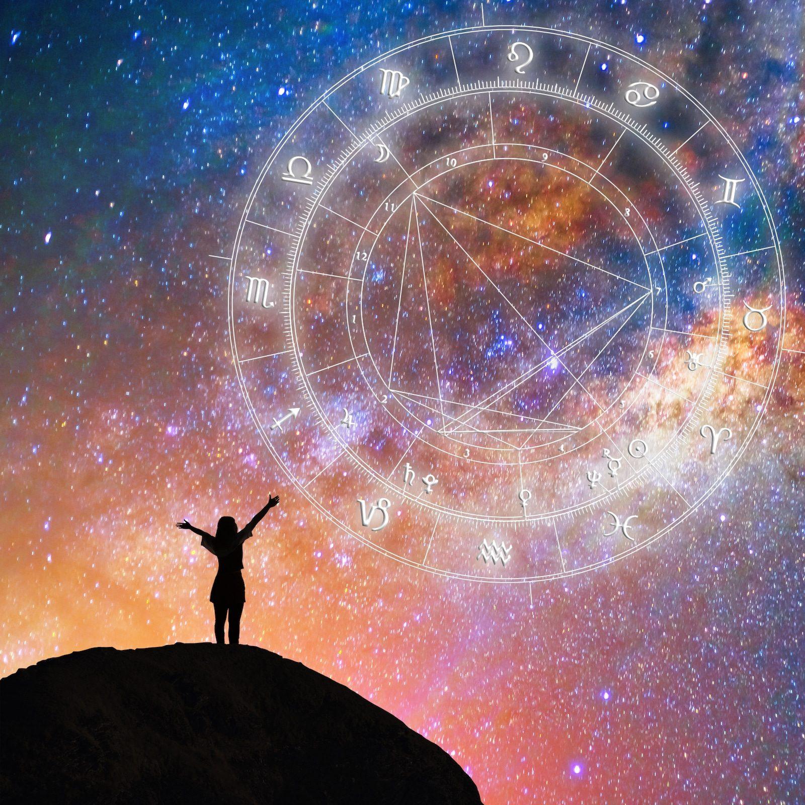 Ga Afe Sternenhimmel Mit Horoskop