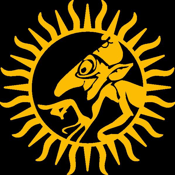 Logo Mystix Goldgelb 600x598